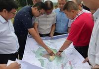 羅江縣領導到金山鎮召開項目推進現場辦公會