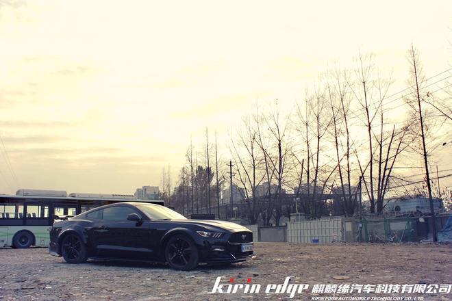 狂野的造型,不羈的氣質 KT烈焰寬體空力套件具有賦予FORD Mustang更加肌肉與力量的魔法