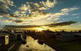 荷蘭羊角村風景,荷蘭羊角村日出風景,景色宜人的荷蘭羊角村風景