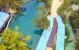 快五一了!這有個免費的!避暑游泳潛水聖地!航拍南寧金陵清水潭