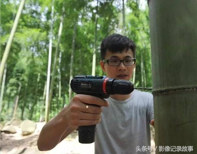 影像記錄 農村稀罕物竹子酒280塊錢一節,馬雲都在喝,值不值?