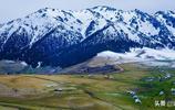 新疆這座神山美得逆天,被人膜拜了3000年,每年很多人去探險
