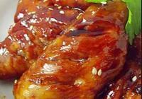 甜蜜蜜的蜜汁雞翅