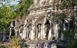 旅行畫冊泰國清曼寺旅遊遊記 清邁最古老的寺院