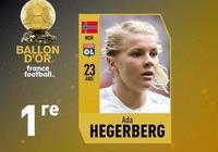 官方:阿達-赫格貝里獲女足金球獎
