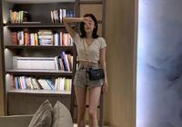 古力娜扎撞衫Jennie,細腰長腿太優越,平價品牌也穿出了高級感