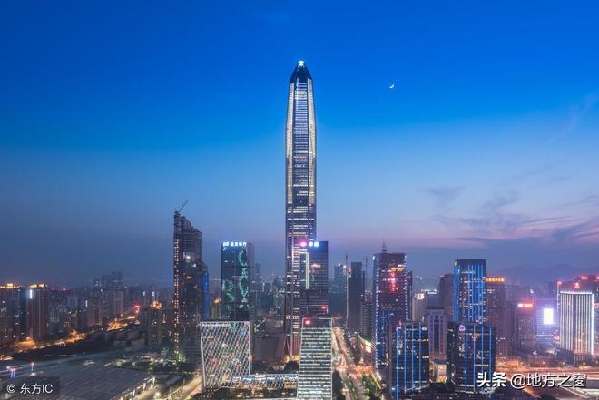 實拍深圳夜景,越來越有世界一線城市的魅力
