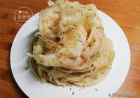 蔥油餅最快速做法,不用燙麵,不用揉麵,2分鐘烙一張,酥脆掉渣
