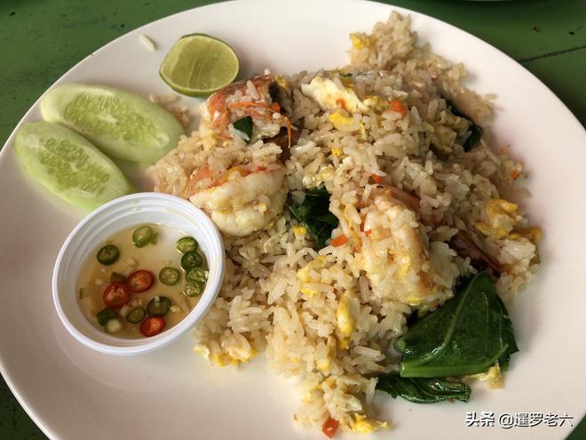 都說泰國物價低,在曼谷郊區吃頓飯,花70元竟吃到如此豐盛午餐!
