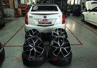 復刻熊貓輪——凱迪拉克ATS改裝18寸ZC鍛造FF3輪轂