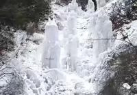 舟曲廟溝的冰雪世界,銀裝素裹美如畫!