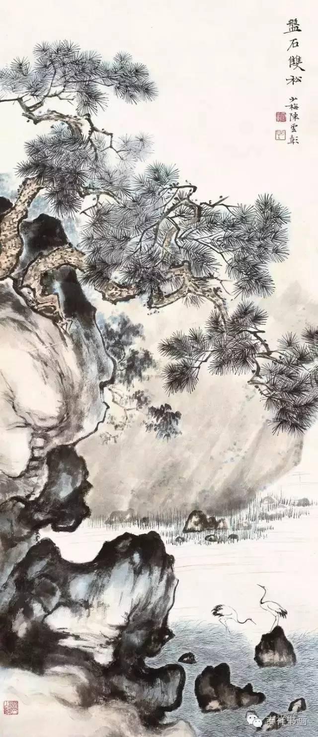 中國名家鬆百圖,松柏之志!