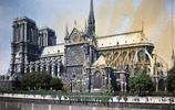 彩色老照片:20世紀初期巴黎聖母院的丰姿