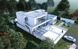 兩層現代風別墅,純白立面自由靈動,大氣舒適不輸海邊度假別墅!