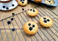 藍莓瑪芬蛋糕#有顏值的實力派#