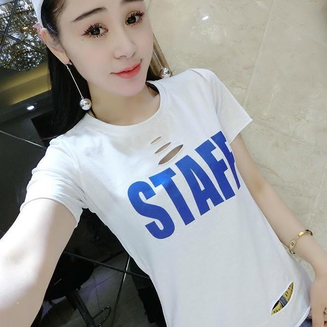 歐洲站T恤小衫,18-25歲女生穿搭極品,時尚炫酷還優惠呦