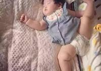 寶寶奇葩睡姿類型,快來看看你家寶寶中槍了沒?