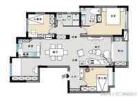 家裝設計:一套三居室設計,實用又溫馨