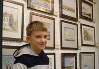 10歲神童小畫家 基倫·威廉森油畫作品