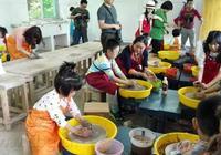 榮昌:親子上陣做陶器 在勞動中快樂成長
