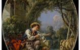 法國洛可可風格繪畫大師弗朗索瓦·布歇油畫作品