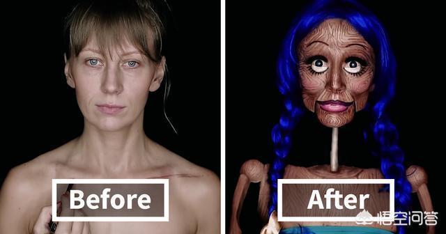 你見過哪些驚為天人的化妝術?你如何評價?