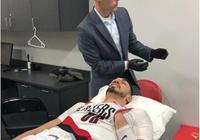坎特左肩傷勢加劇,賽後疼到幾落淚
