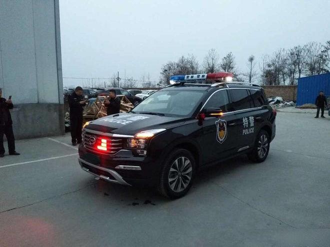 警務、軍務大量選用國產車,這才是國產車崛起的標誌