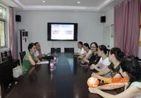 曾瑜華一行到九江市湖濱幼兒園走訪慰問優秀教師