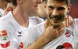 足球——德甲:科隆勝法蘭克福