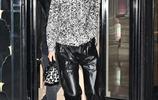 肯達爾·詹娜現身巴黎,黑白穿搭經典時尚,個性夾克帥氣迷人