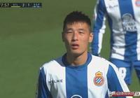 武磊登場參與進球+造對手王牌吃黃牌,閃耀西甲!成西班牙人錦鯉