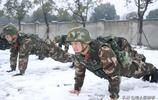 致敬!實拍中國軍人冰天雪地練兵 只為默默守護人民平安