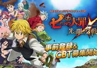 人氣動漫《七大罪》改編為RPG冒險遊戲
