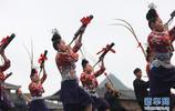 蘆笙舞者 丹寨競技