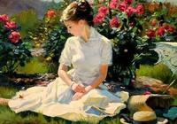 俄羅斯畫家筆下的美女