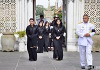 不丹王太后訪泰悼念泰國九世王!