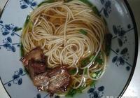 陽春麵or蔥油麵