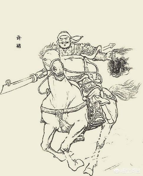 《三國演義》中許褚與張飛的武藝哪個更高?