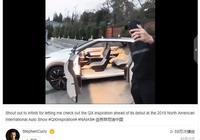 球星庫裡提前曝光英菲尼迪純電動SUV