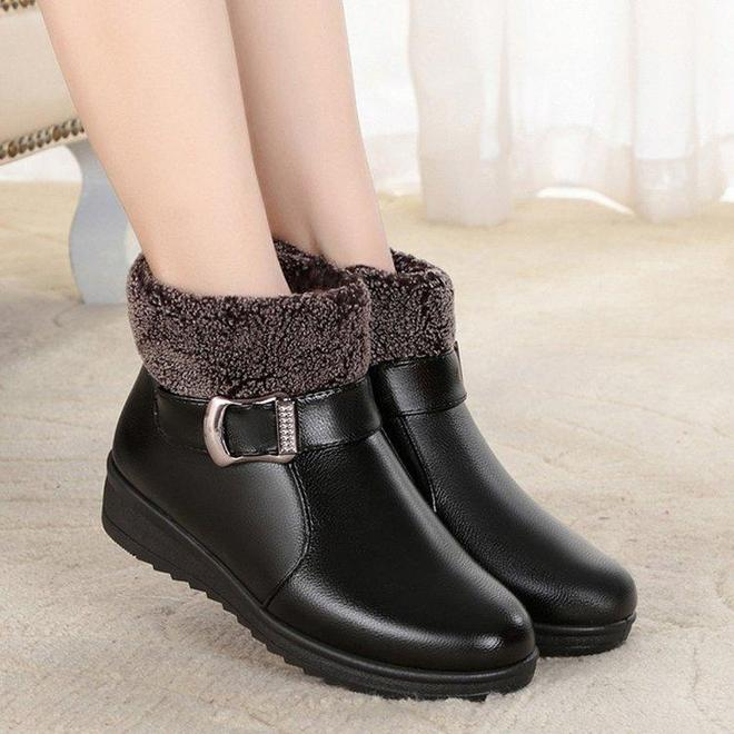 """今年這棉鞋火了:叫""""奶奶鞋"""",舒適保暖不累腳,適奶奶和姥姥穿"""
