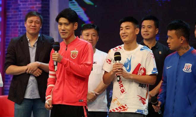 武磊、徐根寶、范志毅、孫祥等足球人士近日一起參加節目錄制