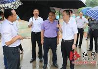 唐浩然、劉浪深入石鼓區來雁新城現場辦公