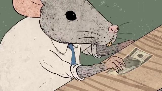 老鼠的幸福是什麼?黑暗諷刺動畫《幸福》