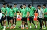 國安球員在上海體育場踩場訓練,中超第11輪國安客場對陣上港