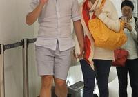 陳豪陳茵媺過二人世界,逛街全程十指緊扣,面對記者大方打招呼
