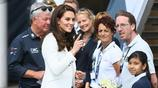 凱特王妃開心出席活動,笑容非常燦爛