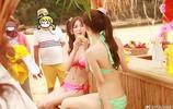 "SNH48在海邊的""泳裝生寫"""