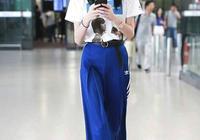 155小個子怎麼穿?女明星都穿的高腰褲A字裙,網友:可以再高10cm