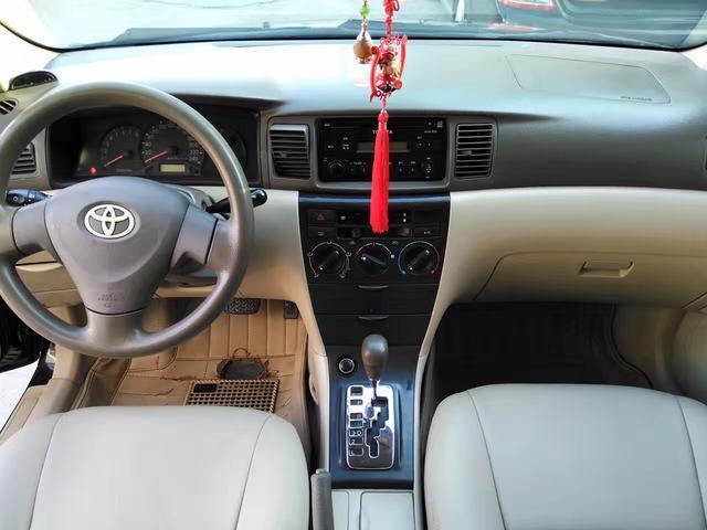 豐田花冠家用代步車的最佳選擇!油耗低,維修成本低!